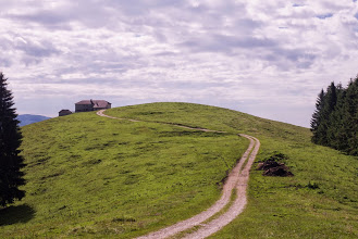 Si transita accanto a Malga Zomo (m1.460 - Monte Badenecche).