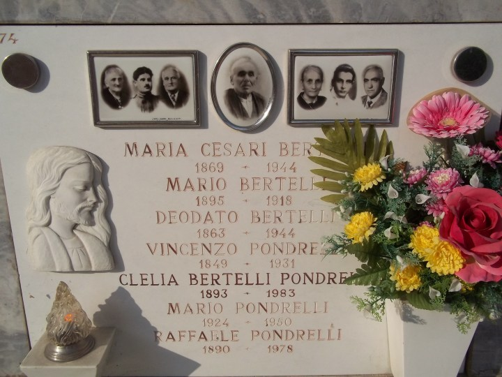 Tomba Bertelli Mario